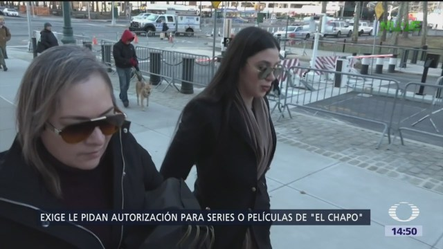 Emma Coronel condiciona series de 'El Chapo'