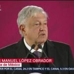 AMLO buscará apoyo internacional tras accidente en Puebla