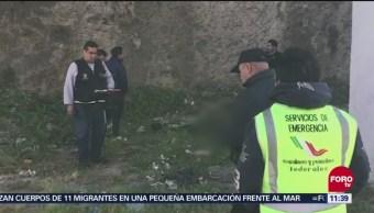 Encuentran dos cadáveres en Naucalpan, Estado de México