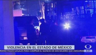 Encuentran dos cuerpos calcinados dentro de camión en Ecatepec