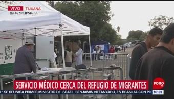 Enfermedades Respiratorias Albergue Migrante En Tijuana