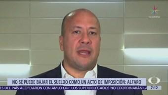 Enrique Alfaro pide al Poder Judicial de Jalisco considerar reducción de salarios