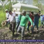 Entierran a niña guatemalteca que falleció en EU