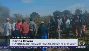 Es muy difícil conocer qué sucedió en accidente de aeronave en Puebla, dice especialista