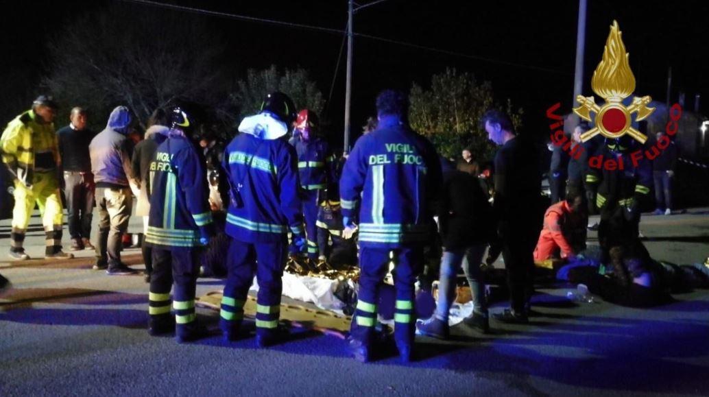estampida en club nocturno en italia deja seis muertos