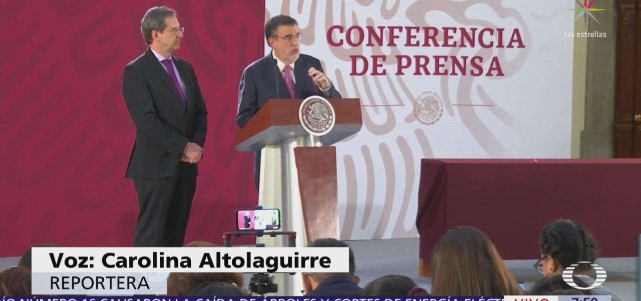 Esteban Moctezuma explica nuevo plan educativo de AMLO