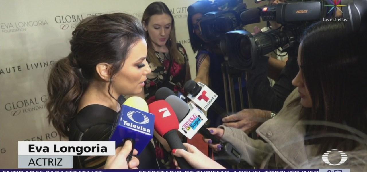 Eva Longoria asiste a gala benéfica de su fundación