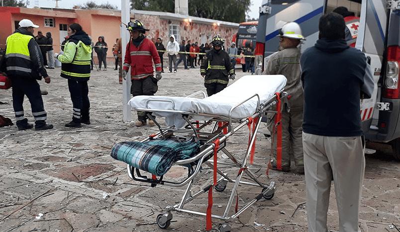 Siguen hospitalizados 15 heridos por explosión en Querétaro
