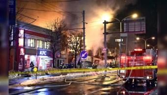 Explosión en un restaurante de Japón deja 41 heridos