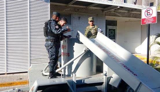 Semar desactiva artefacto explosivo en Campeche