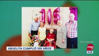 Extra, Extra: Abuelita cumplió 105 años