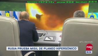 Prueban misil de planeo hipersónico