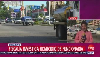 Fiscalía De Guerrero Investiga Homicidio De Funcionaria Fiscalía De Guerrero, Homicidio De Funcionaria, El Corresponsal, Isaac Flores