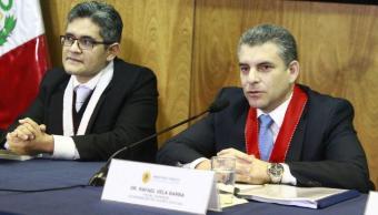 Destituyen a fiscales que investigan caso Odebrecht en Perú