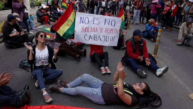 Huelga paraliza Bolivia en rechazo a reelección de Evo