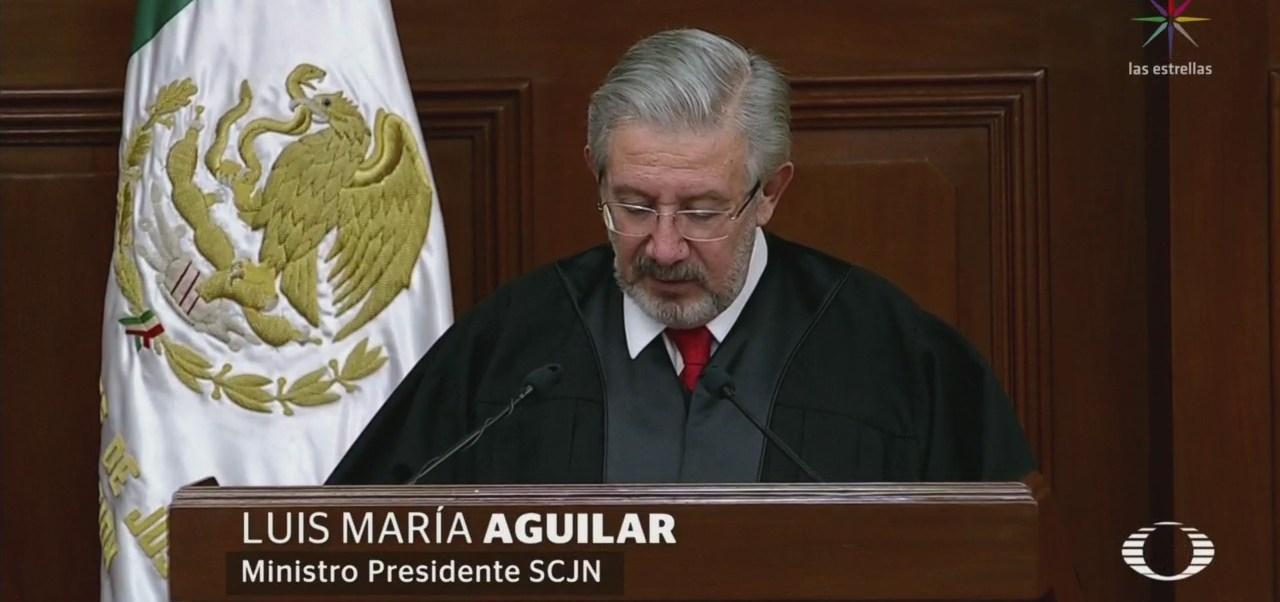 Amlo Presidente Scjn Defiende Autonomía Poder Judicial