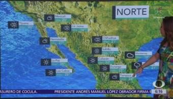 Frente frío 14 ocasionará lluvias en centro, oriente y sureste del país