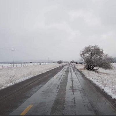 Cuarta tormenta invernal y frente frío 20 provocan nevadas en Chihuahua