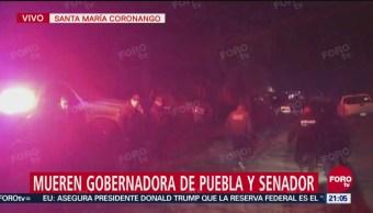 Fuerzas Federales Resguardan Lugar Accidente Murió Gobernadora