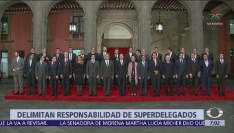 Gobernadores se reúnen con AMLO y dialogan sobre superdelegados