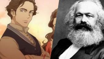 Gobierno chino crea un animé sobre Karl Marx