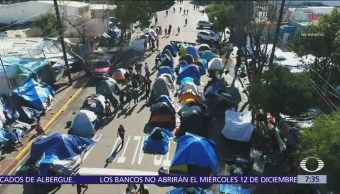 Gobierno federal desactiva ultimátum contra migrantes en Tijuana