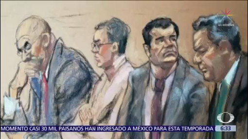 Hijas de 'El Chapo' Guzmán asisten a su juicio en Nueva York