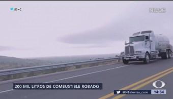 Histórico aseguramiento de hidrocarburos entre Puebla y Tlaxcala