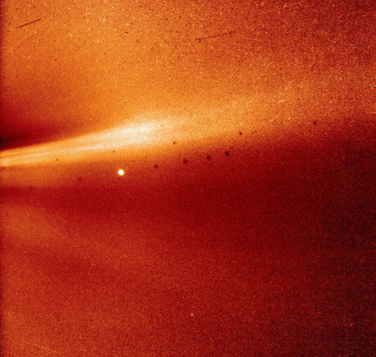 Sonda Parker envía primera imagen de la atmósfera del Sol