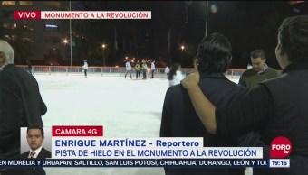 Inauguran Pista De Hielo Monumento A La Revolución CDMX