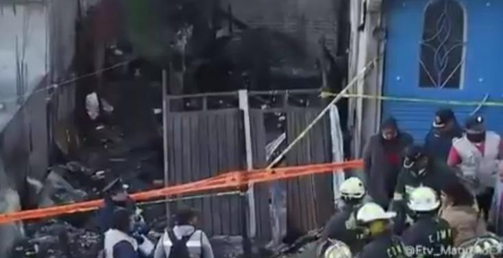 CDMX: Mueren al menos 6 niños por incendio en Iztapalapa
