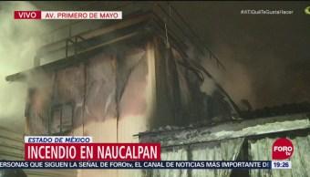 Incendio En Naucalpan Consume Bodega Juguetes