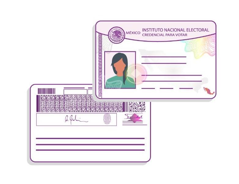 Comisión INE avala propuesta de nueva credencial de elector