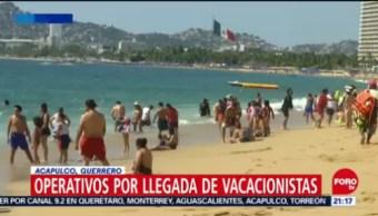 Inicia Operativo Llegada Vacacionistas Acapulco Guerrero