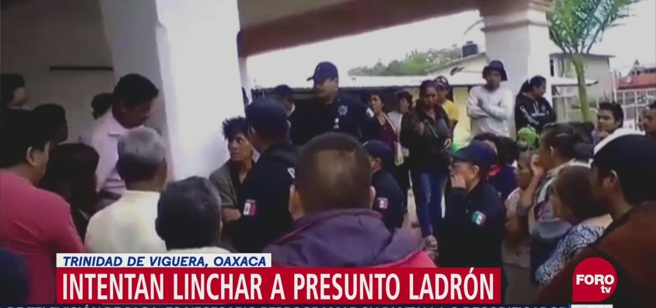 Intentan linchar a presunto ladrón en Oaxaca