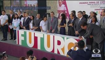 'Jóvenes Construyendo el Futuro' capacitará a jóvenes que no tienen trabajo
