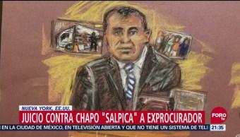 Juicio Contra 'El Chapo' Salpica Exprocurador Morales Lechuga