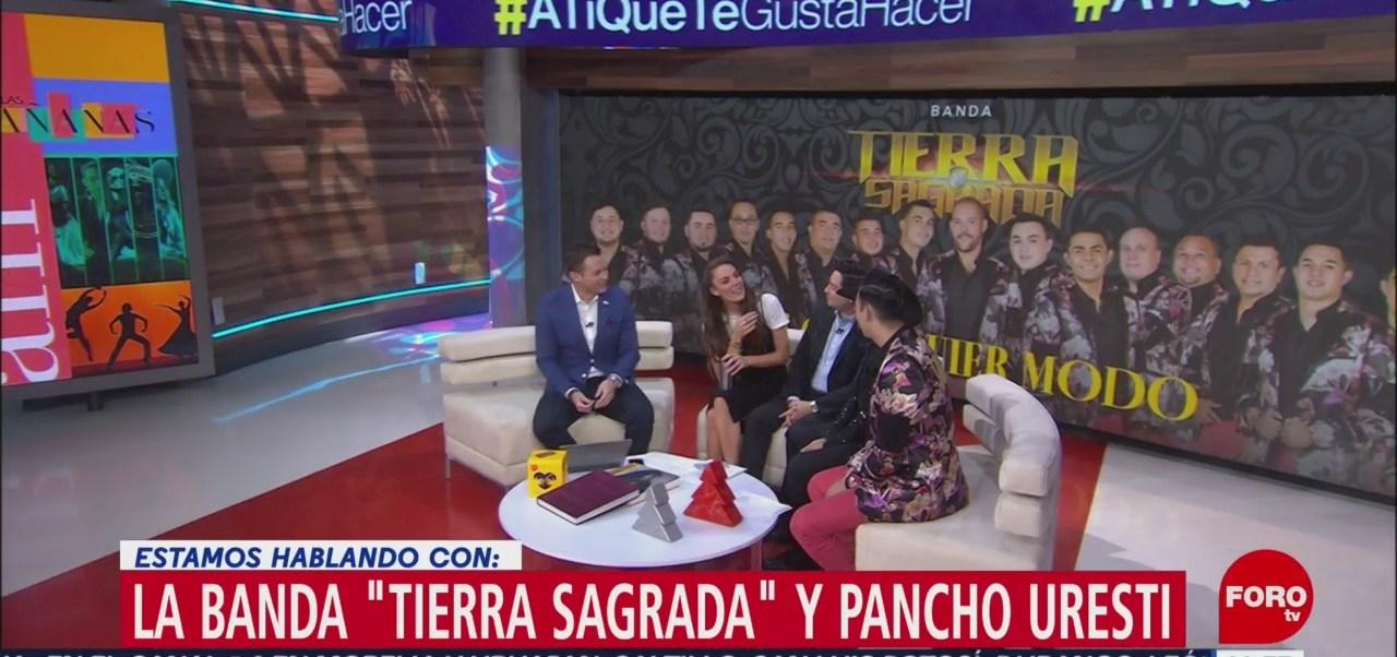 La banda 'Tierra Sagrada' y Pancho Uresti estrenan sencillo