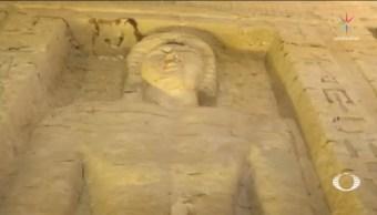 Extraordinaria Tumba 4,400 Años Sacerdote Egipcio Cairo