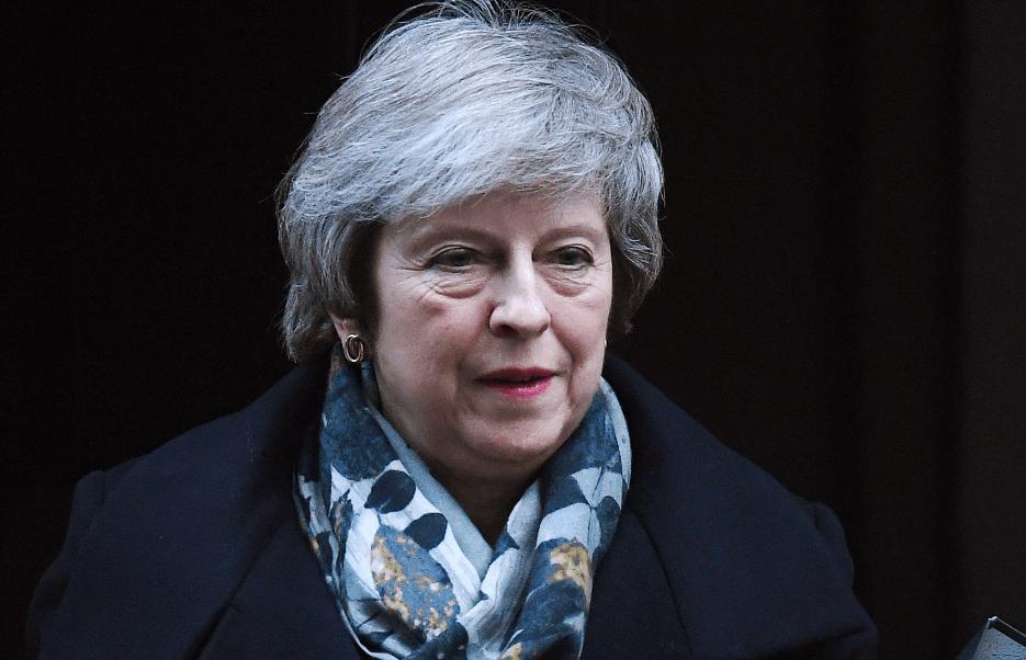 May: Acuerdo del Brexit se votará la semana del 14 de enero