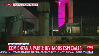 Realizan verbena popular en el Zócalo tras discurso de AMLO