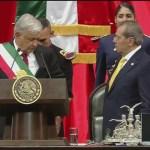 AMLO asume la presidencia de la República