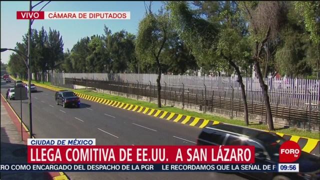 Ivanka Trump llega a San Lázaro para toma de protesta de AMLO