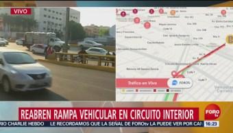 Reabren Rampa Vehicular En Circuito Interior En Las Inmediaciones Del Aicm, Circuito Interior, Inmediaciones Del Aicm, 500 Manifestantes, Protestas