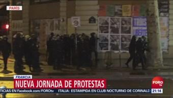 Manifestación De 'Chalecos Amarillos' Se Extiende En Europa, Manifestación, Chalecos Amarillos, Extiende En Europa, Bruselas, 400 Personas Fueron Detenidas,