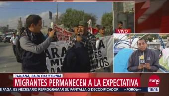 Sin definirse situación legal de migrantes en Tijuana