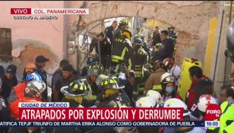 Familiares De Víctimas Llegan A Zona De Explosión En Colonia Panamericana, Familiares De Víctimas, Explosión En Colonia Panamericana, Cdmx