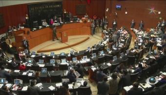 Legisladores PRI PAN PRD Confrontan Morena