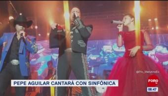 Pepe Aguilar cantará con la Sinfónica de Minería