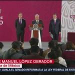 López Obrador presenta la iniciativa de ley para derogar la reforma educativa